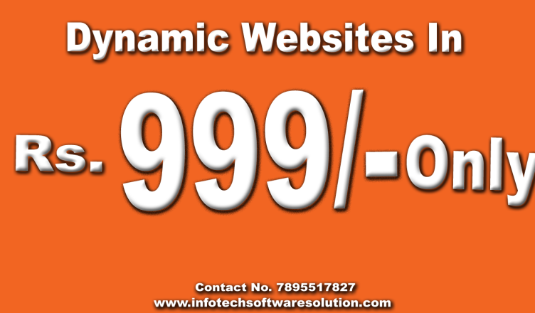 Web development and web designing company in Dehradun 999/- Only