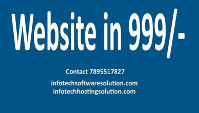 Domain and web Hosting in Dehradun